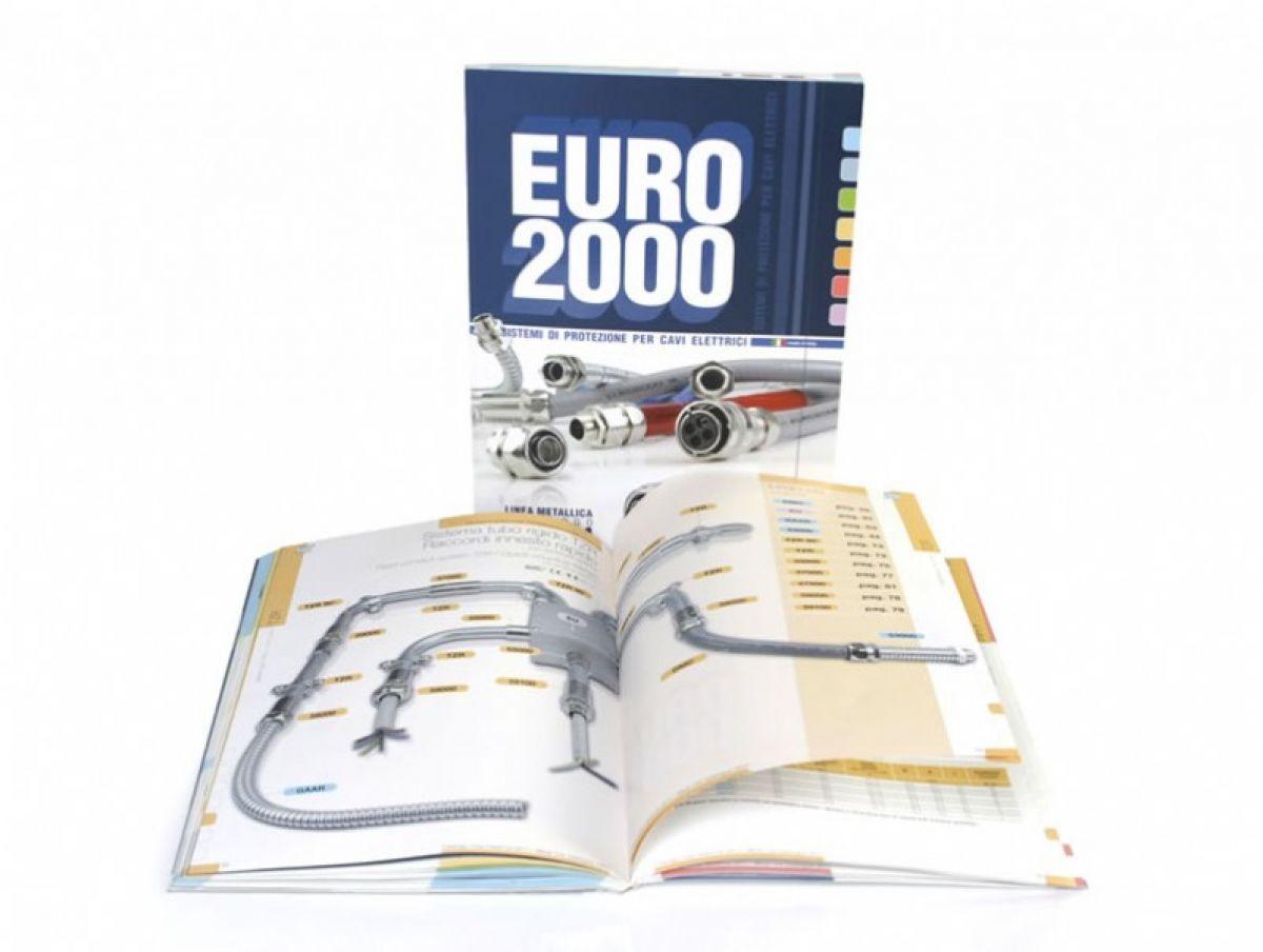 Realizzazione cataloghi aziendali settore guaine, tubi, raccordi: EURO 2000