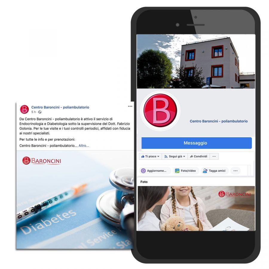 Gestione Facebook e Instagram