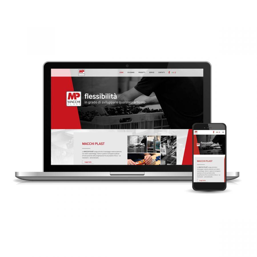 Siti web per settore industria plastica