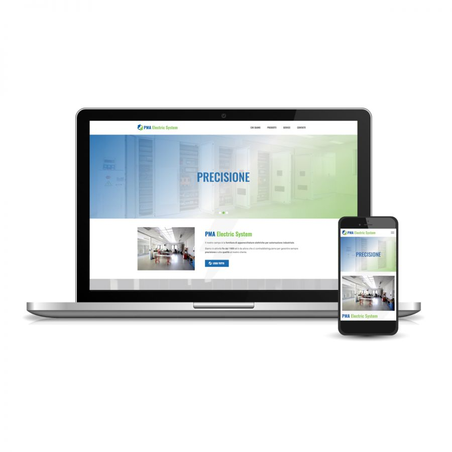 Siti web realtà industriale