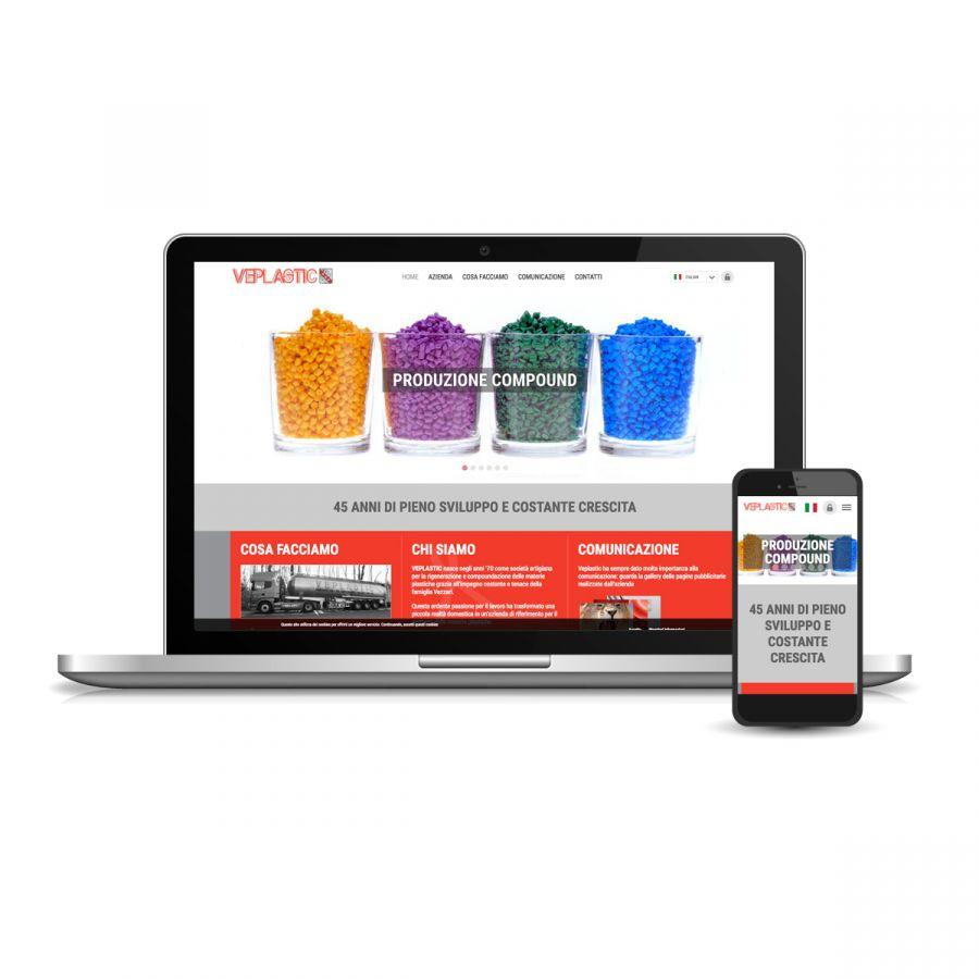 Sito web per settore industria plastica